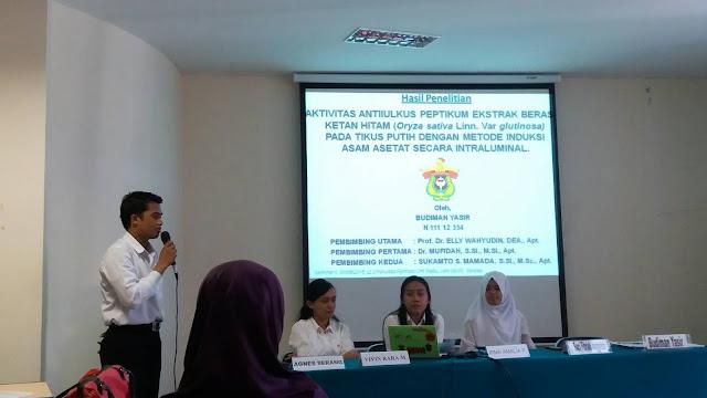 Galeri - Seminar Hasil Preseiden BEM Kemafar-UH