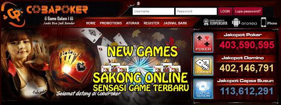 CobaPoker.com Agen Dewa Poker BandarQ Domino QQ Terpercaya