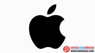 kalautau.com - Logo Apple Sekarang Warna Hitam