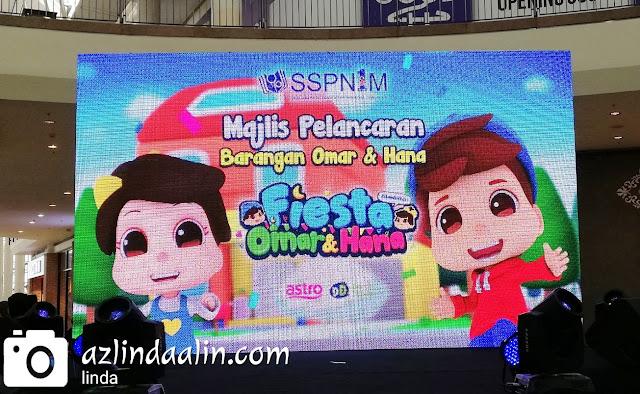 Omar dan Hana Fiesta di Alamanda Putrajaya