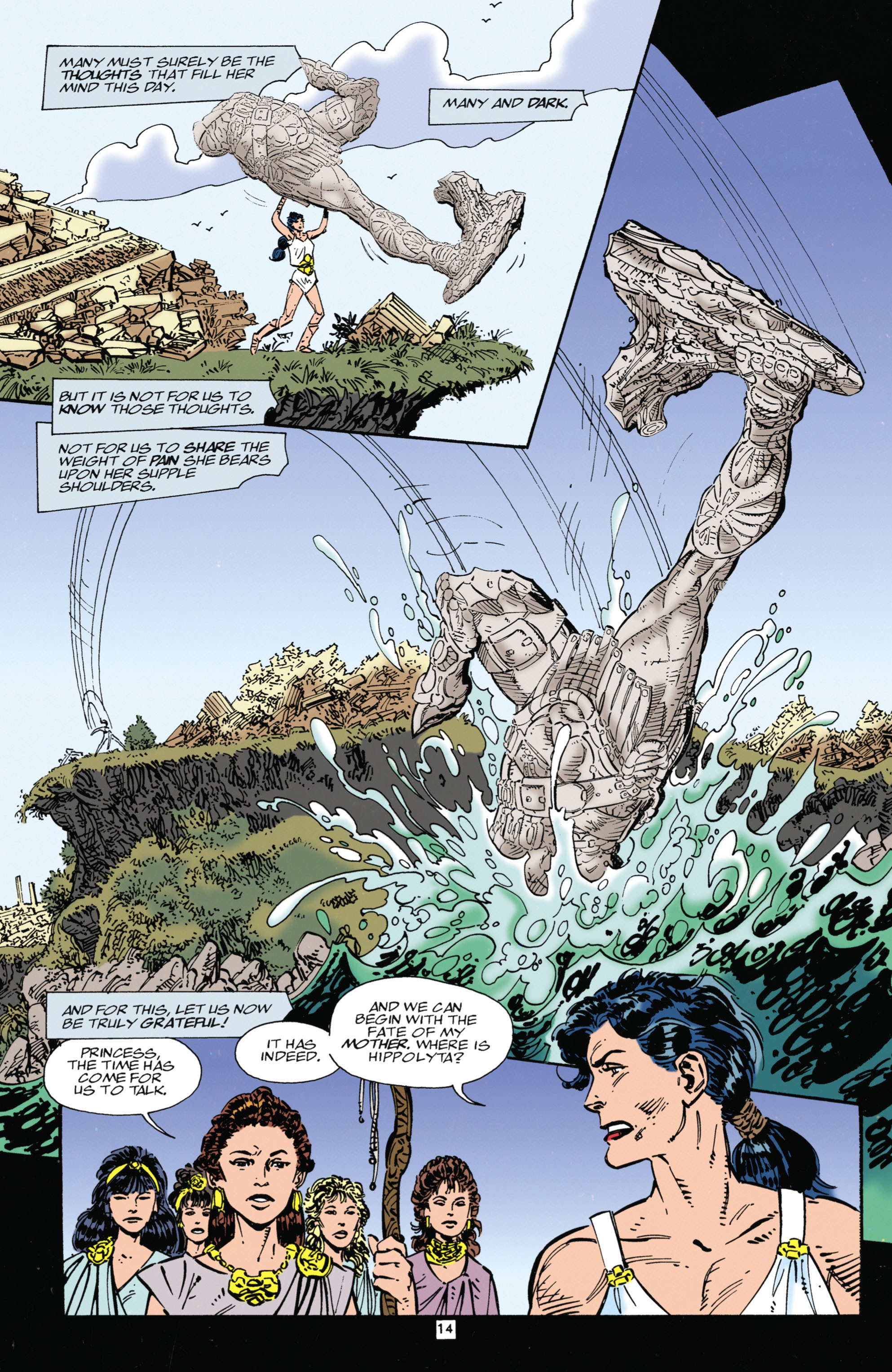 Read online Wonder Woman (1987) comic -  Issue #104 - 14