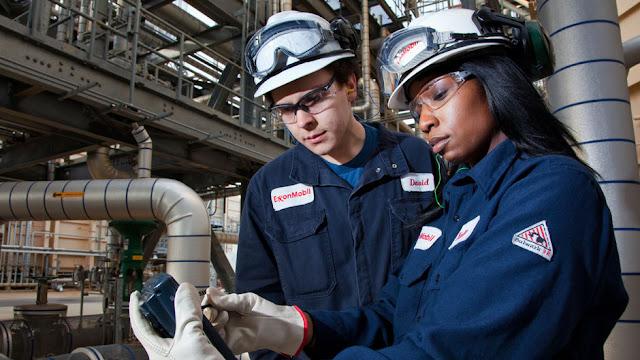 ExxonMobil worker