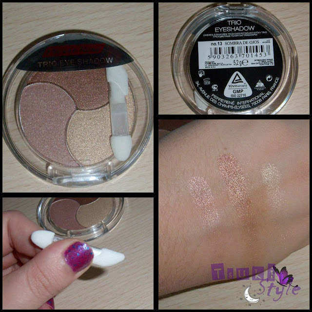 trio eyeshadow pierre rene