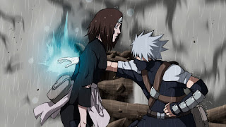 kakashi mata a rin explicación de por qué kakashi mata a rin