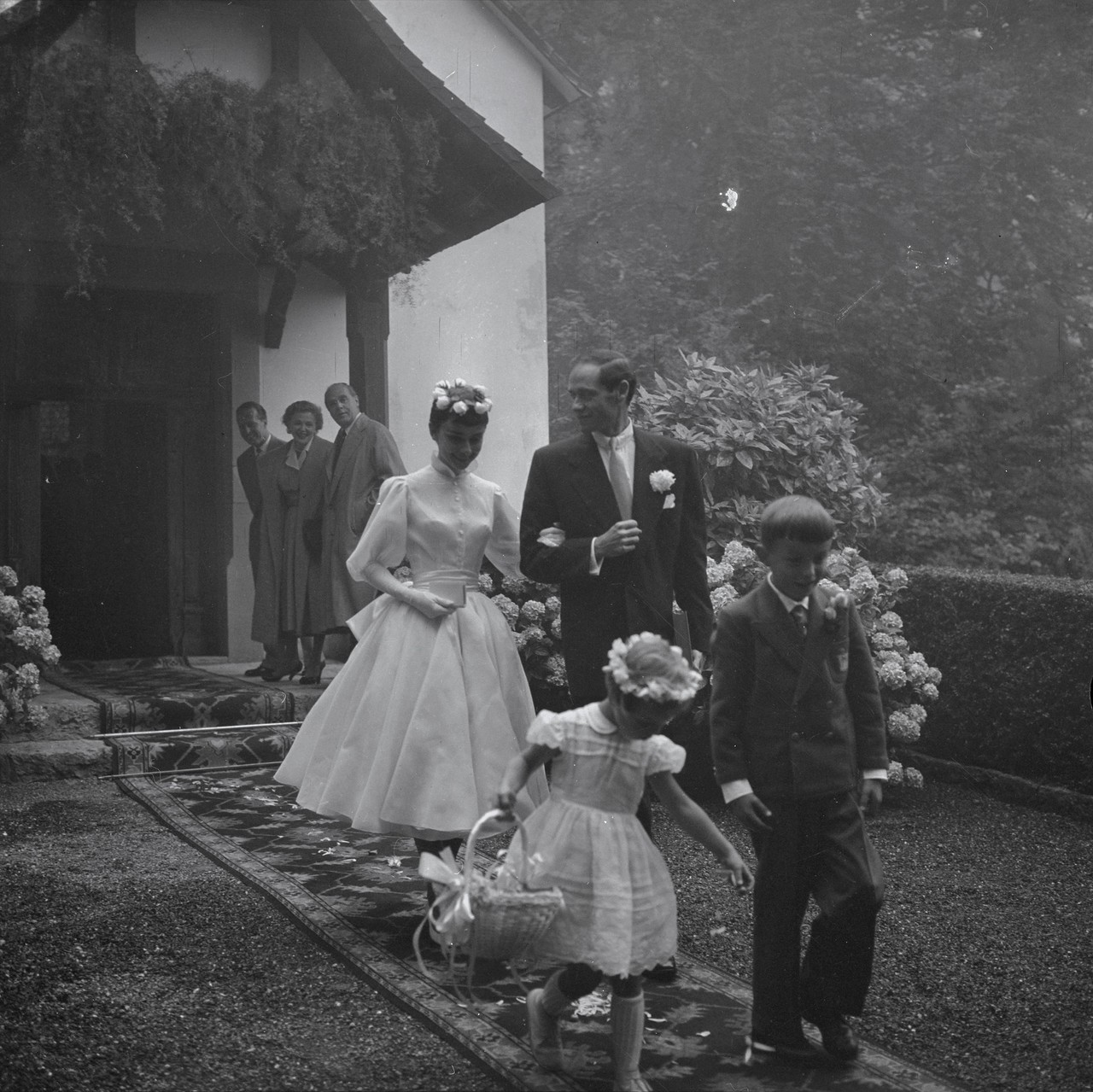 Rare Photographs Of Audrey Hepburn And Mel Ferrer On Their