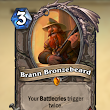 Playing With Brann Bronzebeard.
