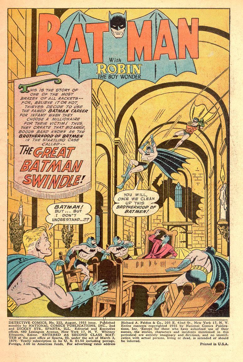 Detective Comics (1937) 222 Page 2