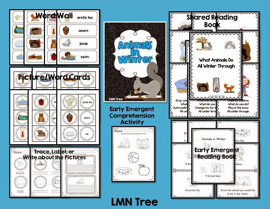Lmn Tree Animals In Winter Free Resources Free Activities And Great Books For Read Alouds
