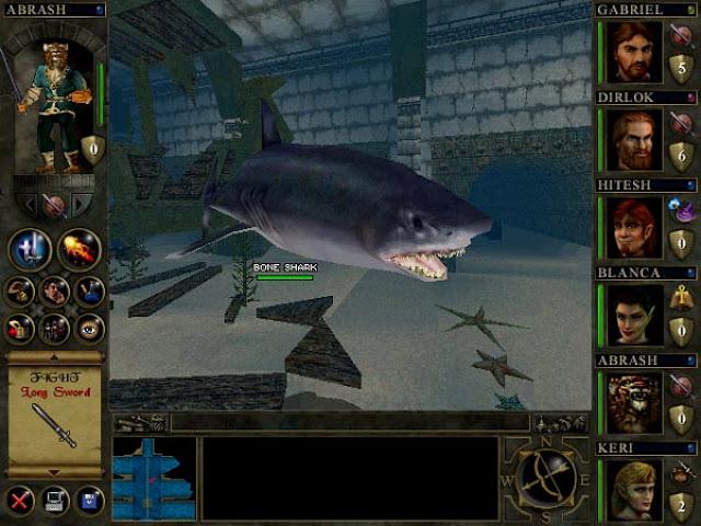 Wizards & Warriors - Bone Shark