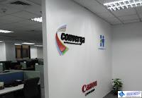 Wall Acrylic Logo Signs - Converga