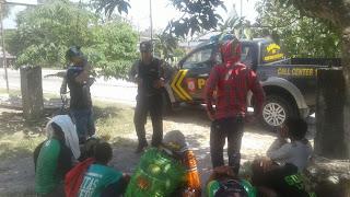 Persiwa VS Persebaya Di Ngawi,  Polisi Sisir Bonek di Sepanjang Jalan Ngraho