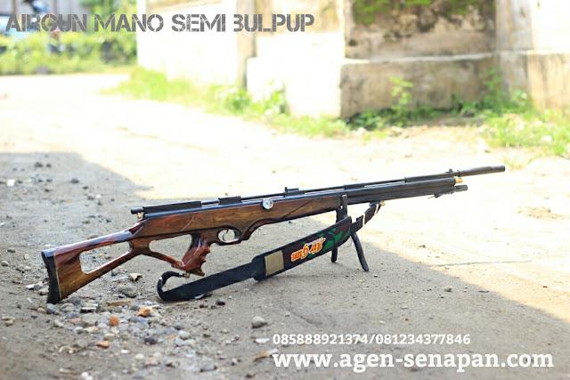 Senapan Gejluk Air Gun Semi Bullpup, Senapan Gejluk Manometer