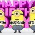 Minions Wishing Happy Birthday Images Collection