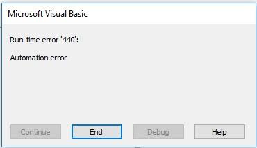 Error runtime macro CorelDraw