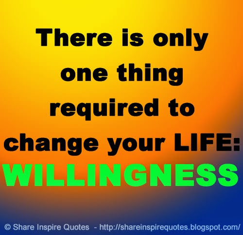 Funny Quotes About Life Changes: Willingness To Change Quotes. QuotesGram