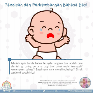 Tangisan dan Perkembangan Bahasa Bayi (0-6 bulan)