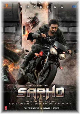 Saaho 2019 Hindi Movie DVDScr 480p 500MB