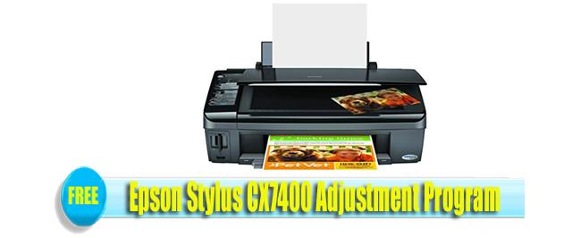 Epson Stylus CX7400 Adjustment Program