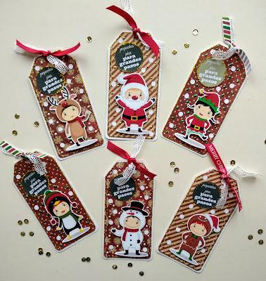 Tags navideños para Estelar