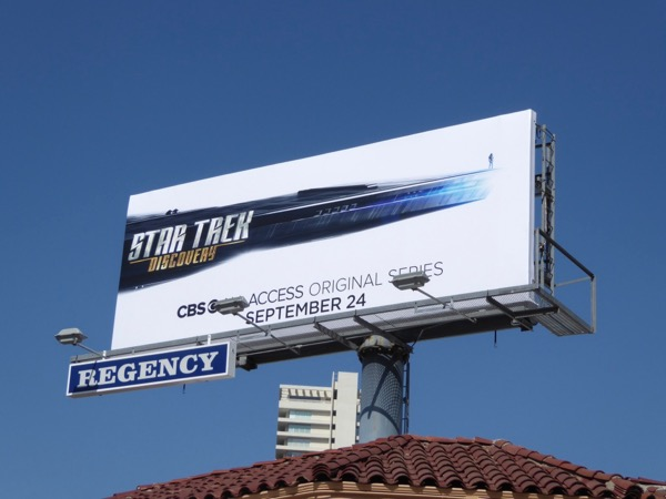 Star Trek Discovery billboard