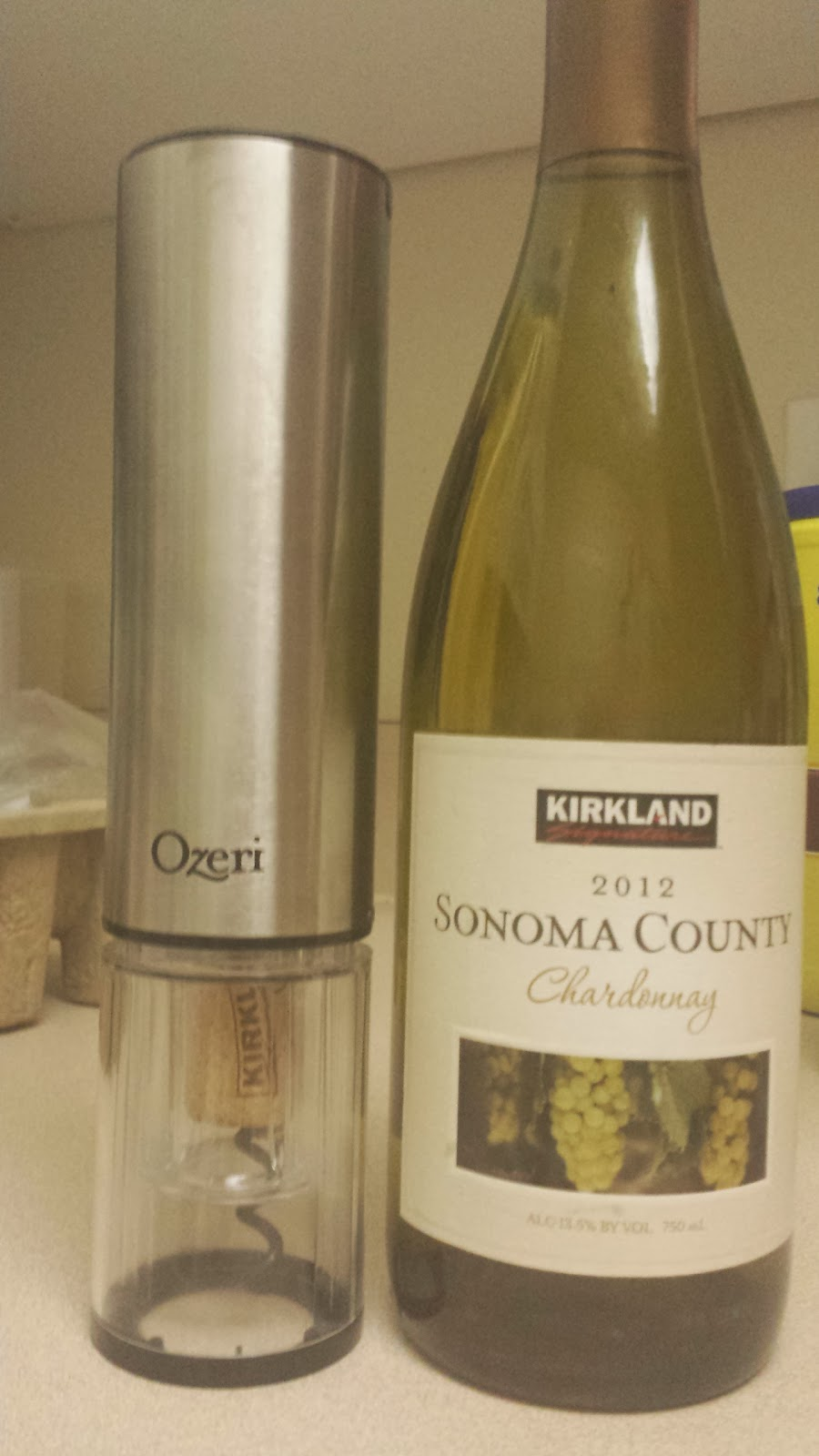 Ozeri Extravo Electric Wine Opener in Stainless Steel Review
