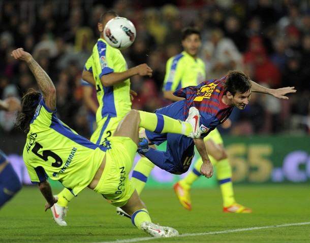 Real Madrid Vs Getafe 2012: Barca Vs Getafe Preview