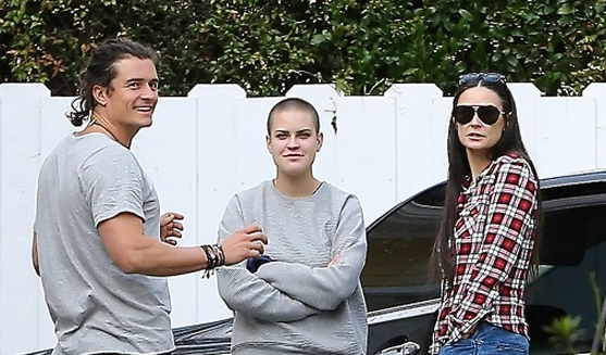 demi moore dating orlando bloom Exes orlando bloom & katy perry attend same birthday party orlando bloom and katy perry had a little post-breakup run-in this weekend demi moore, and.