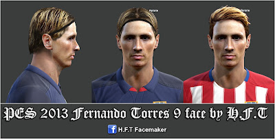 PES 2013 Torres face by H.F.T