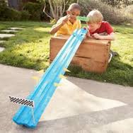 Car Track with Pool Noodles