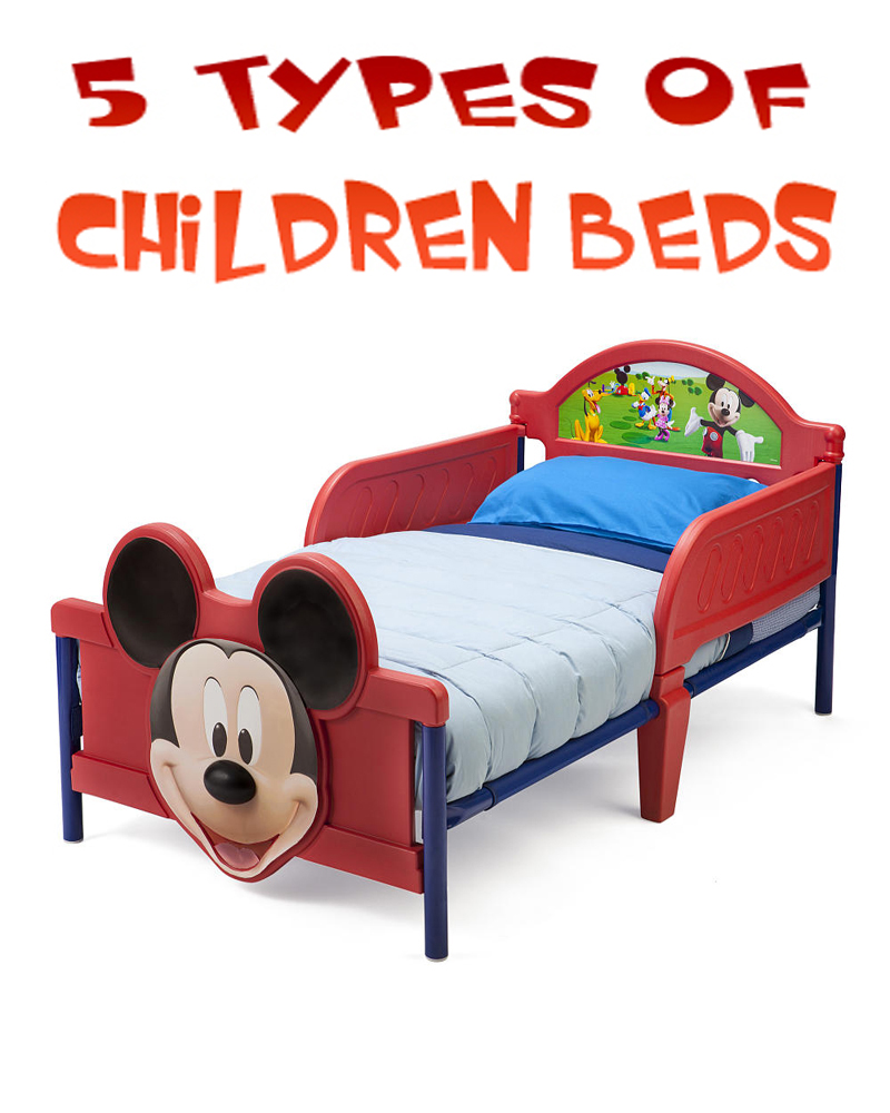 5 Types of Children Beds