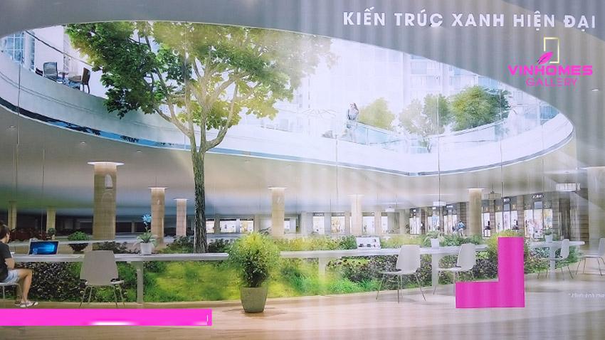 Kiến trúc xây dựng cao cấp tại dự án Vinhomes Gallery