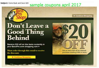 free Bass coupons for april 2017