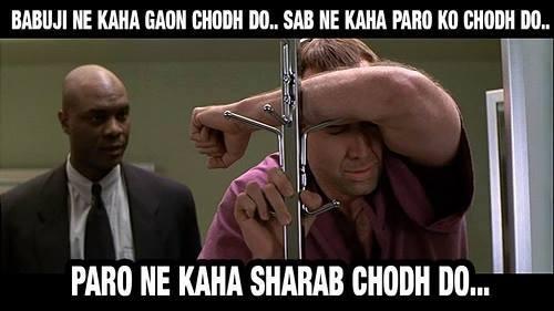 15-Babuji-Ne-Kaha-Gaon-Chodh-Do+Sab-Ne-Kaha-Paro-Ko-Chodh-Do+Paro-Ne-Kaha-Sharab-Chodh-Do