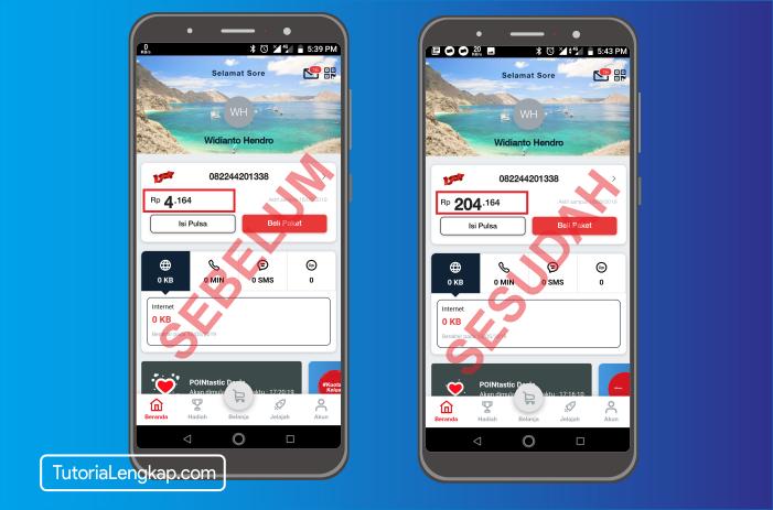 tutorialengkap 6 cara beli pulsa online melalui akun dana di hape android