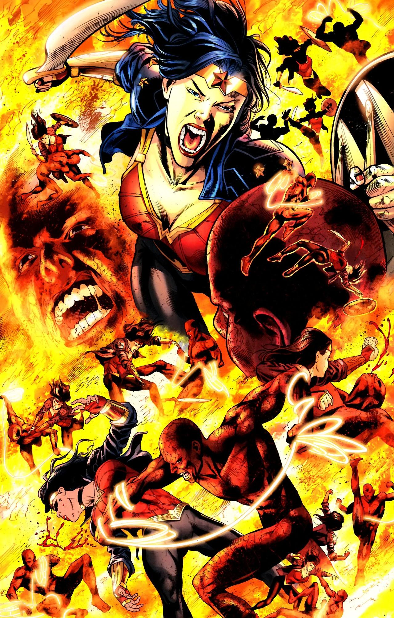 Read online Wonder Woman (2006) comic -  Issue #604 - 8