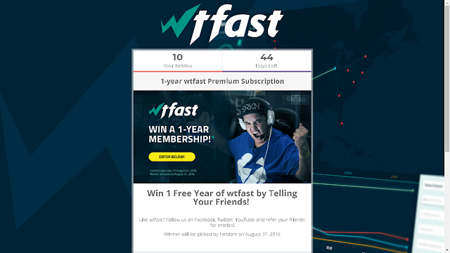 Join the WTFast Contest!