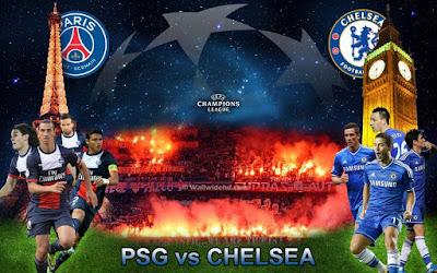 Prediksi PSG Vs Chelsea 17 February 2016