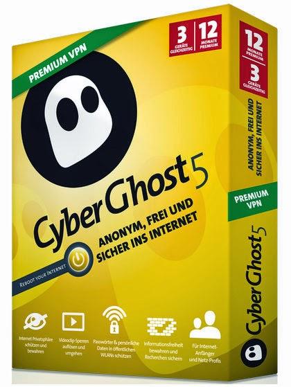 CyberGhost VPN 5.0.14.7 Free Full