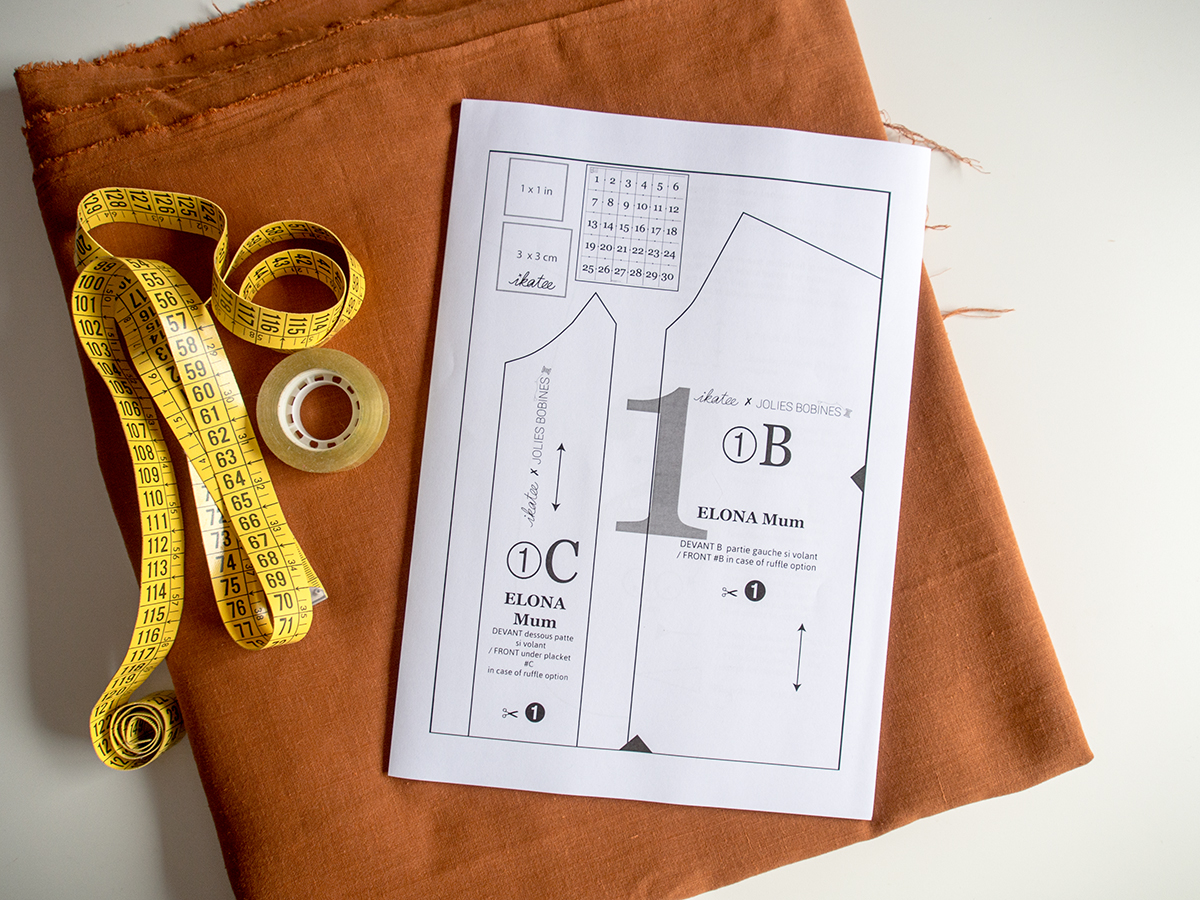 Bonito Patrones De Costura Diseñador Independientes Viñeta - Ideas ...