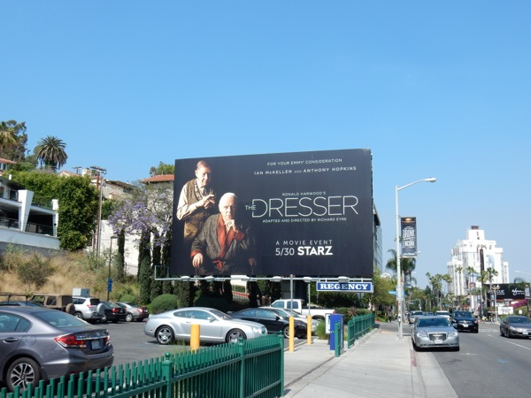 The Dresser movie remake billboard