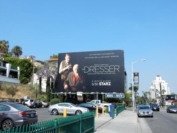 The Dresser movie remake billboard