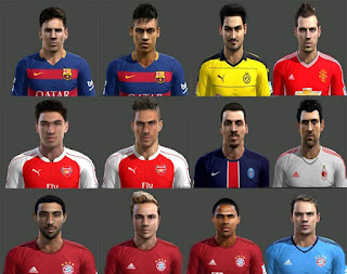 Facepack v2 Pes 2013 By Hamido