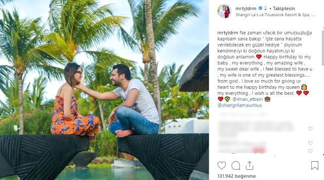 Murat Yıldırım, romantic sharing
