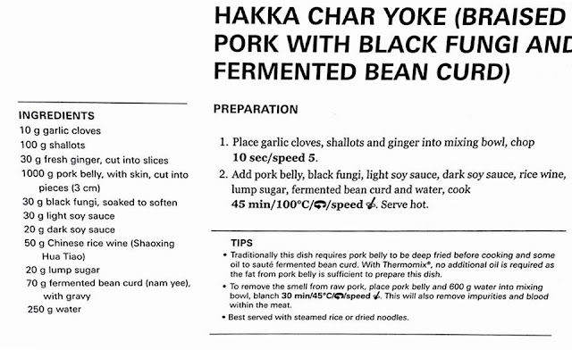 Hakka Char Yoke Recipe By Thermomix TM5