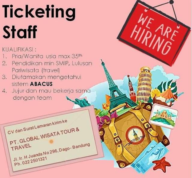 Lowongan Staff PT. Global Wisata Tour & Travel