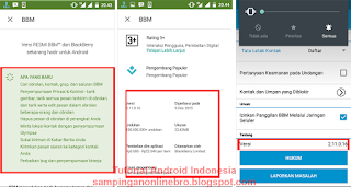detail bbm for android update terbaru BBM v 2.11.0.16