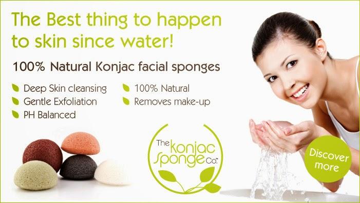 esponja natural para la limpieza facial