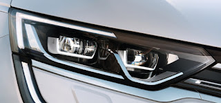 fari luci led Nuova Renault Koleos 2017
