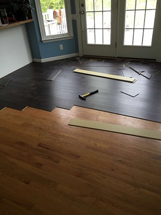 The Review Hq Lowes Smart Core Laminate Flooring Install