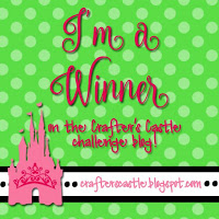 Winner at Crafters Castle Challenge